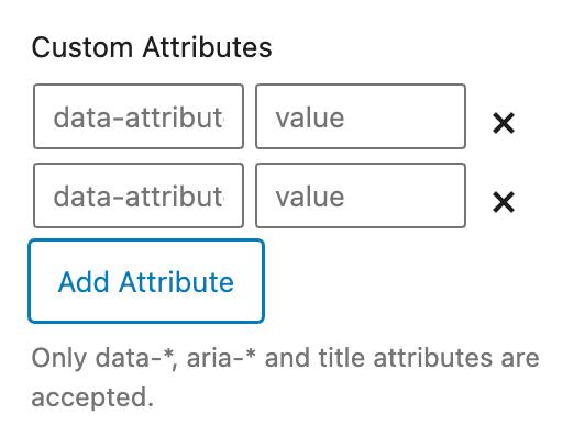 GenerateBlocks Custom Attributes