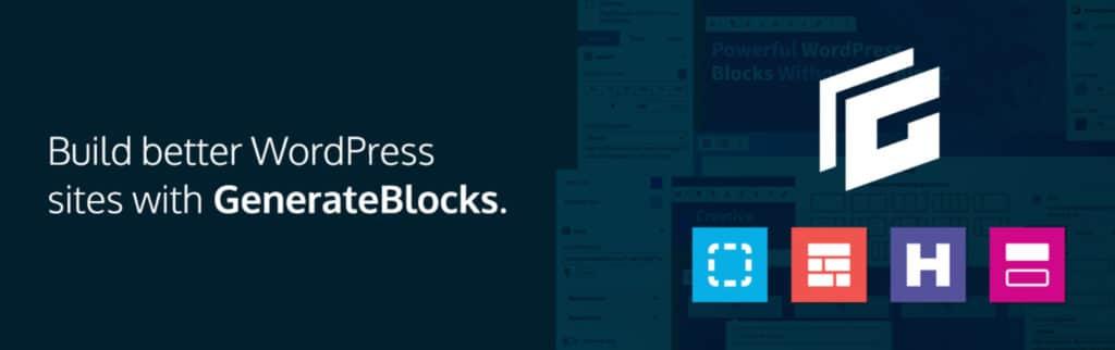 GenerateBlocks WordPress plugin