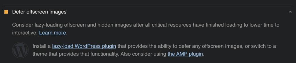 Defer offscreen images