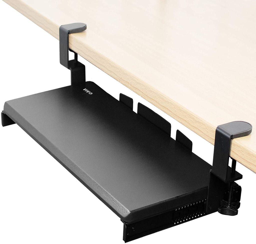 VIVO keyboard under desk mount keyboard tray